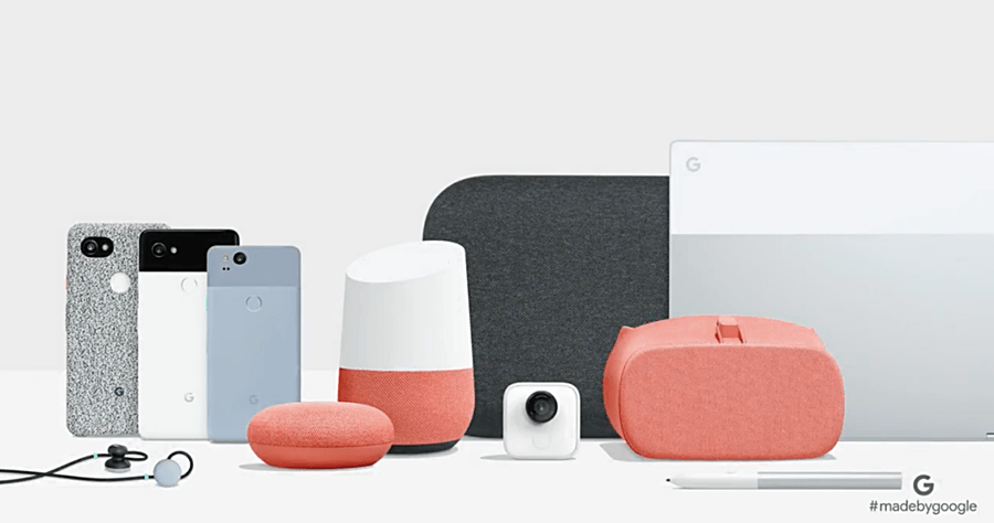 Google 發表會還有 Google Home Mini / Max、Clips、Pixel Buds 與 Daydream View 改款